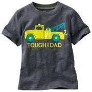Carter's Tough Like Dad Slubbed Tee - Toddler