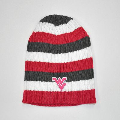 West Virginia Mountaineers Himalaya Striped Beanie