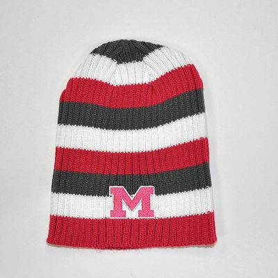 Michigan Wolverines Himalaya Striped Beanie