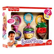 Fisher-Price Sweet Treats Rattle and Teether Gift Set