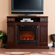 Bastwick Media Console Electric Fireplace