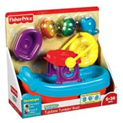 Fisher-Price Topzy Tumblers Tubtime Tumblin' Boat Playset