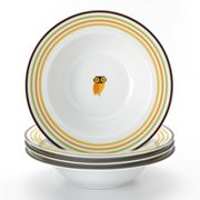 Rachael Ray Little Hoot 4-pc. Soup Bowl Set
