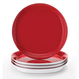 Rachael Ray Round and Square 4-pc. Dinner Plate Set