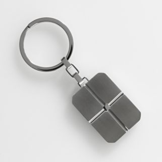 AXL by Triton Stainless Steel Cross Key Chain