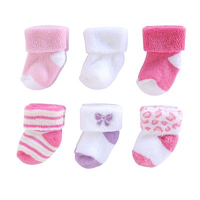 First Moments 6-pk. French Terry Socks - Baby