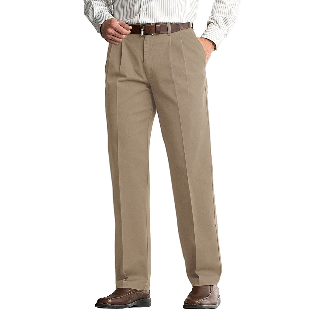 Big & Tall Lee Custom-Fit Double-Pleated Easy-Care Pants