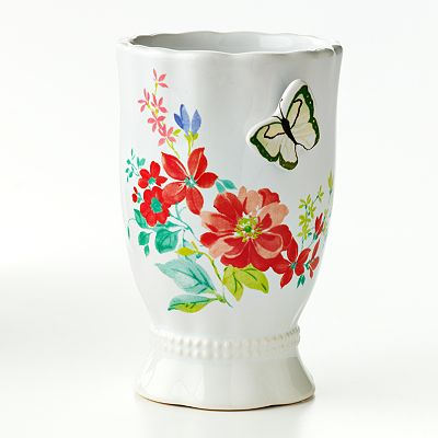 Croft and Barrow Spring Floral Tumbler