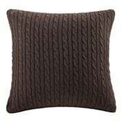 Woolrich Cable-Knit Decorative Pillow