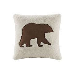 Woolrich Bear Decorative Pillow