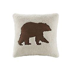 Woolrich Bear Decorative Pillow