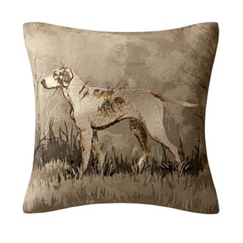 Woolrich Dog Decorative Pillow : Woolrich Bear Decorative Pillow