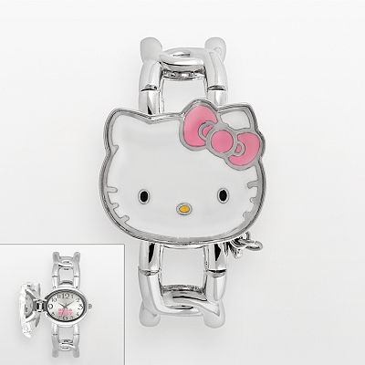 Hello Kitty Silver Tone Expansion Watch - Women