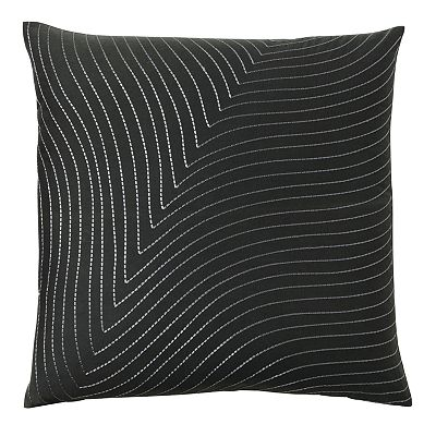 Tao Shoreline Striped Decorative Pillow