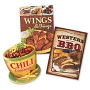 Chili, Wings and Western BBQ Cookbook Value Pack