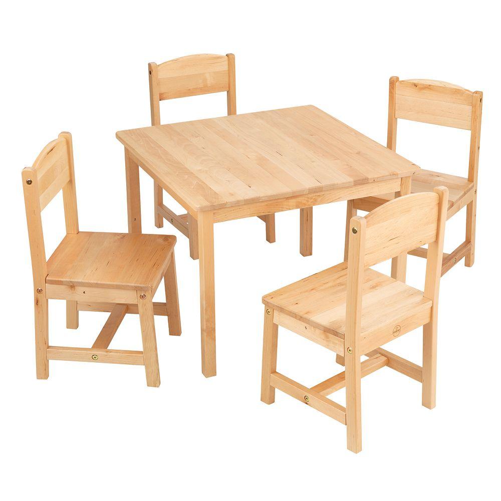 KidKraft Farmhouse Table & Chair Set