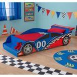 KidKraft Toddler Racecar Bed