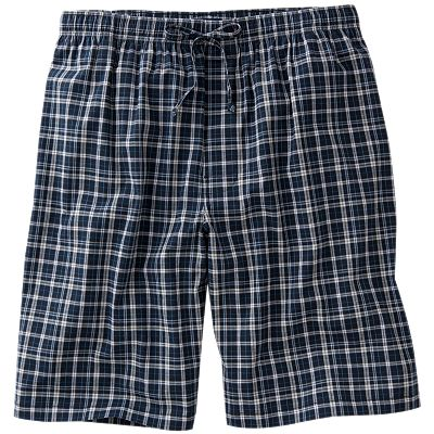 Croft and Barrow Plaid Woven Lounge Shorts - Big and Tall