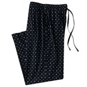 Croft and Barrow Geometric Lounge Pants - Big and Tall