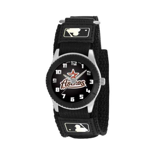 Game Time Rookie Series Houston Astros Silver Tone Watch – MLB-ROB-HOU – Kids