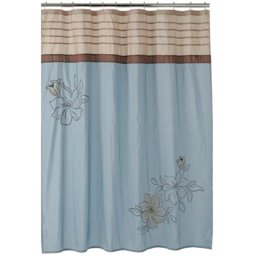 Croft & Barrow® Amelia Fabric Shower Curtain