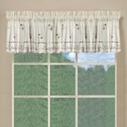 Saturday Knight Ltd. Live, Laugh, Love Tiered Valance - 13'' x 58''