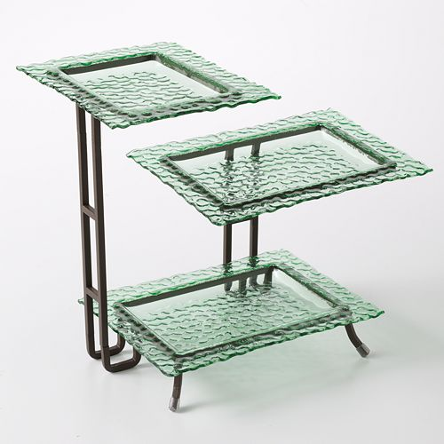 Bobby Flay™ Hammered 3-Tier Serving Rack
