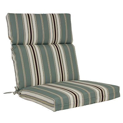 Croft and Barrow Striped Outdoor Chair Cushion