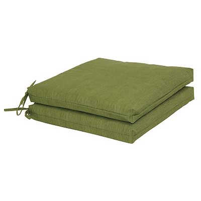 Croft and Barrow 2-pk. Outdoor Seat Cushions