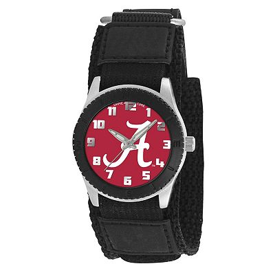 Game Time Rookie Series Alabama Crimson Tide Silver Tone Watch - COL-ROB-ALA2