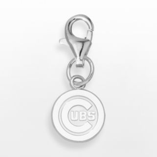 LogoArt Chicago Cubs Sterling Silver Logo Charm