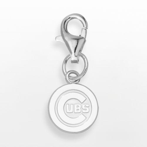 LogoArt Chicago Cubs Sterling Silver Logo Charm
