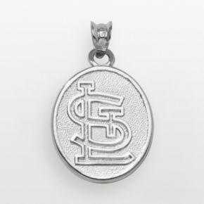 LogoArt St. Louis Cardinals Sterling Silver Logo Charm