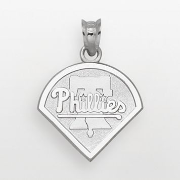 LogoArt Philadelphia Phillies Sterling Silver Logo Pendant