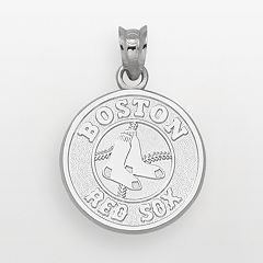 LogoArt Boston Red Sox Sterling Silver Logo Pendant