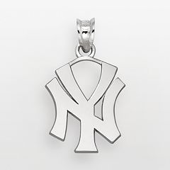 LogoArt New York Yankees Sterling Silver Logo Pendant
