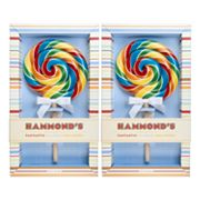 Hammond's 2-pk. Rainbow Blast Lollipops