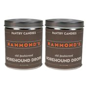 Hammond's 2-pk. Horehound Drop Tins