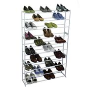 Richards Homewares 50-Pair Standing Shoe Rack