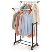 Richards Homewares Chrome Double Garment Rack