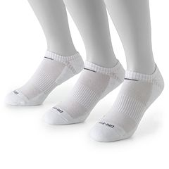 Men's Nike 3 pkDri-FIT No-Show Socks