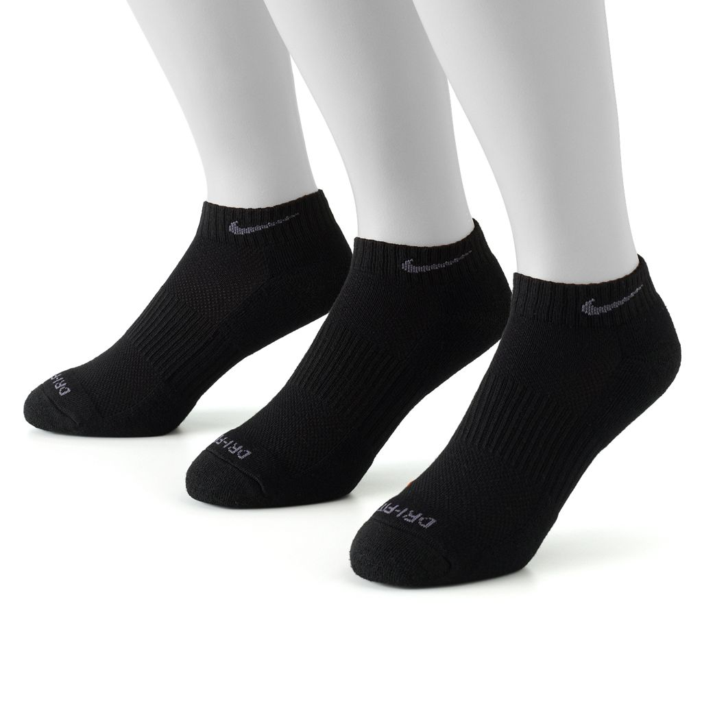 Men's Nike 3-pk. Dri-FIT Low-Cut Socks