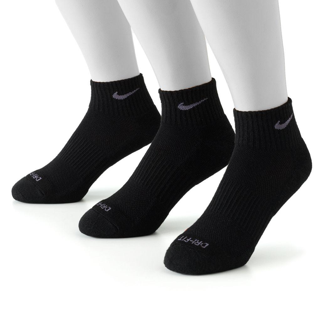 Men's Nike 3-pk. Dri-FIT Quarter Socks