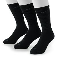 Men's Nike 3 pkDri-FIT Crew Socks