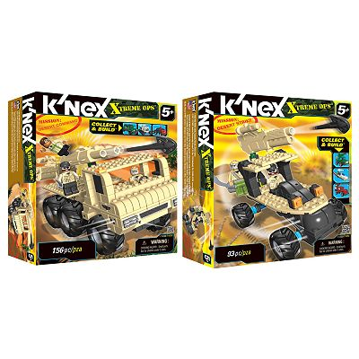 K'NEX Collect and Build Xtreme Ops Mission: Desert Building Sets