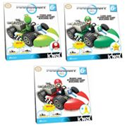 MarioKart Wii Yoshi, Luigi and Mario Standard Kart Building Sets by K'NEX