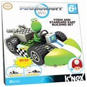 MarioKart Wii Yoshi and Standard Kart Building Set by K'NEX