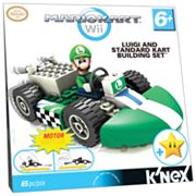 MarioKart Wii Luigi and Standard Kart Building Set by K'NEX