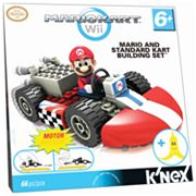 MarioKart Wii Mario and Standard Kart Building Set by K'NEX