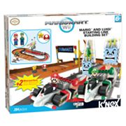 MarioKart Wii Mario and Luigi Starting Line Building Set by K'NEX